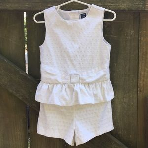 JANIE AND JACK One Piece Short Outfit